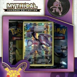 1x Mythical Generations Genesect Collection Pin Box - Pokemon (LIVE BREAK)